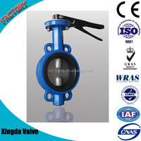 Ductile Iron Handle Wafer Butterfly Valve