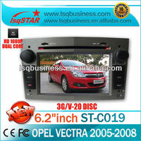 car stereo parts for Opel VECTRA with WIFI,3G,TV, radio,RDS,bluetooth,phone book,big key board,GPS navigator, USB cable, factory