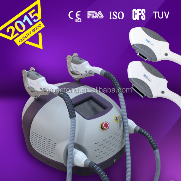 mini machine with two hand pieces Distributor wanted body hair removal acne scar removal ipl elight shr permanent hair removal