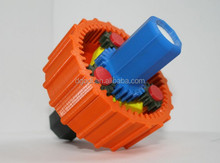 ISO9001 certificated costom full/inner/outer threaded printer plastic gear