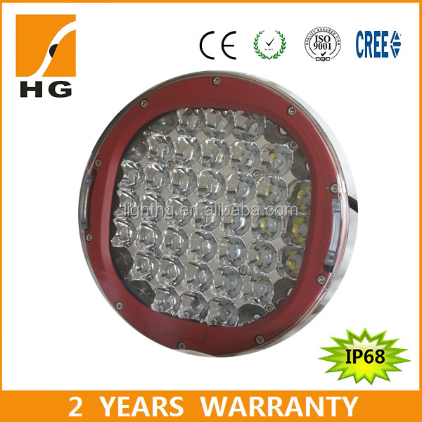 9inch 111w led work light off road work light commercial luminary light for track atv jeep rzr accessories for camping in china