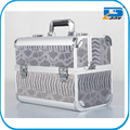 Portable Multi-function aluminum cosmetic packaging box,aluminum cosmetic case