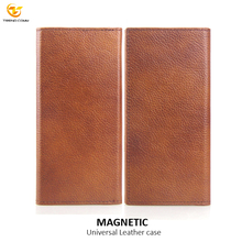 2018 new 5.5 inch Universal Mobile Phone Case Leather Wallet Card Pocket for all Mobile Phone Case