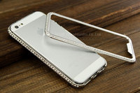 For iphone5s Cover Diamond Cases/ Cover Diamond for iphone 5s Bumper Case