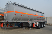 3 axles 45000liter cheap fuel storage tanker semi trailer semitrailer for sale