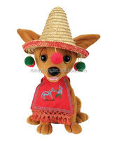 Plush Toys Chihuahua Soft Dog For Musical Stuffed Animals For Babies