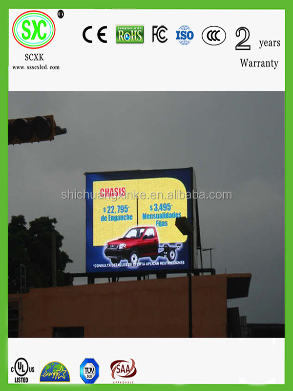 high definition and cost-effective outdoor advertising led sign board