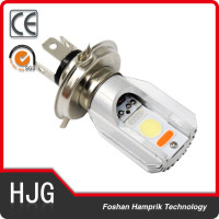 8W high quality H4 COB motorcycle bulb 12V -80v