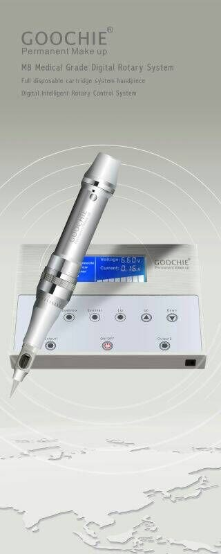 2018 hot sell Goochie mastor digital permanent makeup machine for eyebrow and lip Embroidery set kits