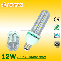 2015 zhongshan led lighting New Design U Shape led Corn12 w LED Corn Light Bulb for Home ideas for mini company