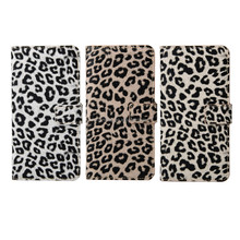 Leopard Style Leather Case for Samsung Galaxy S6 Edge Plus