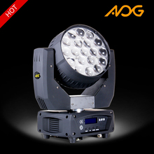 Original AOG or OEM Professional Stage Light Equipment For Nightclub Concert 19 Pieces 12W LED 4 in1 Beam Moving Head Lighting
