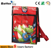 Promotion PP non woven package lunch picnic Insulated Cooler Bag