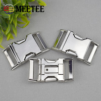 10mm15mm20mm25mm MeeTee High-end metal zinc alloy adjustable side release buckle for bag