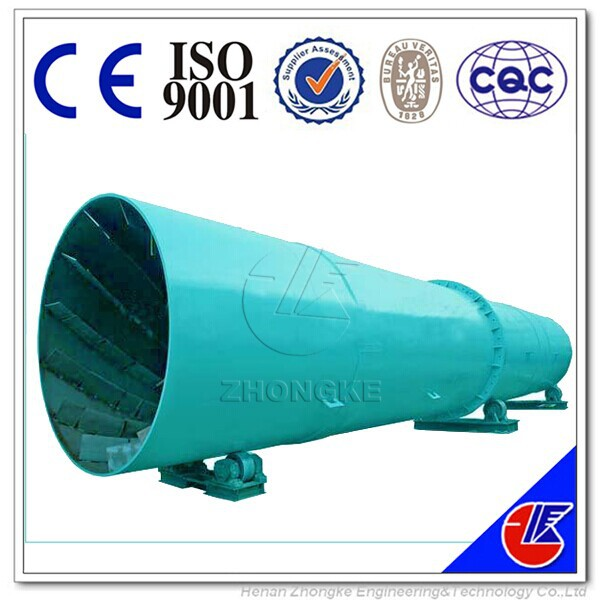Large capacity rotary dryer for Bentonite, Titanium concentrate, Coal, Manganese ore, Pyrite