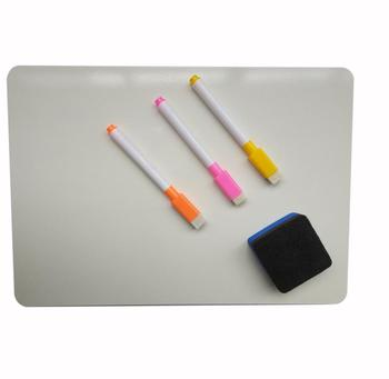 Memo Pad Whiteboard For Home Office Reusable Dry Wipe Pen