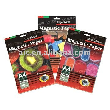 Printable Flexible Magnet Glossy Paper for inkjet