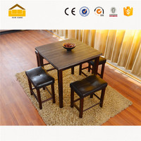 Sectional marble paper wooden dining top