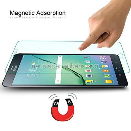 Tablet tempered glass screen protector for Samsung galaxy tab S2 8.0 premium touch screen tempered glass guard