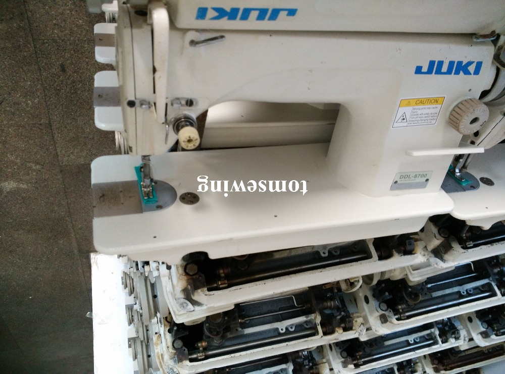 Old Used Second Hand Juki ddl 8700 industrial Sewing Machines price