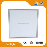 TUV approved 600x600 60x60 45w CRI80 flat led panel ceiling light 3 years warranty.