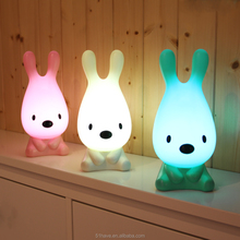 Fancy animal usb kids mini small torch rechargeable led night light