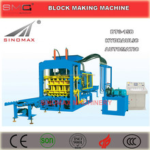 BT6-15B Fully Hydraulic Automatic Concrete Block Making Machine, Concrete Block Brick Production Line, Block Making Line