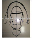 standard black hot seller pvc horse bridles and reins