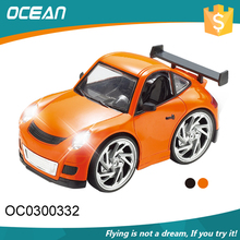 Voice control 1:28 kids 4CH light ar small full metal rc car with low price