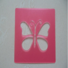 Plastic PP sheets for kid's drawing stencil