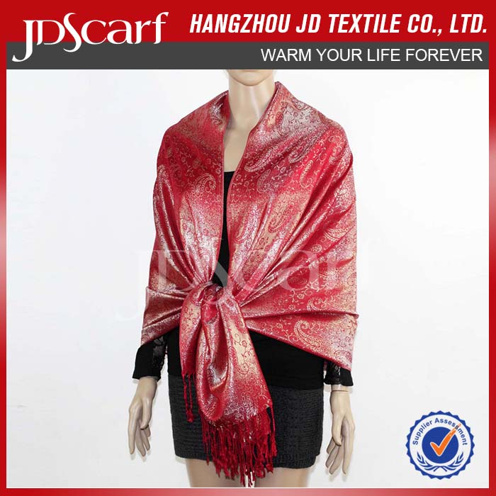 China manufacturer spring winter new design pashmina scarves wholesale