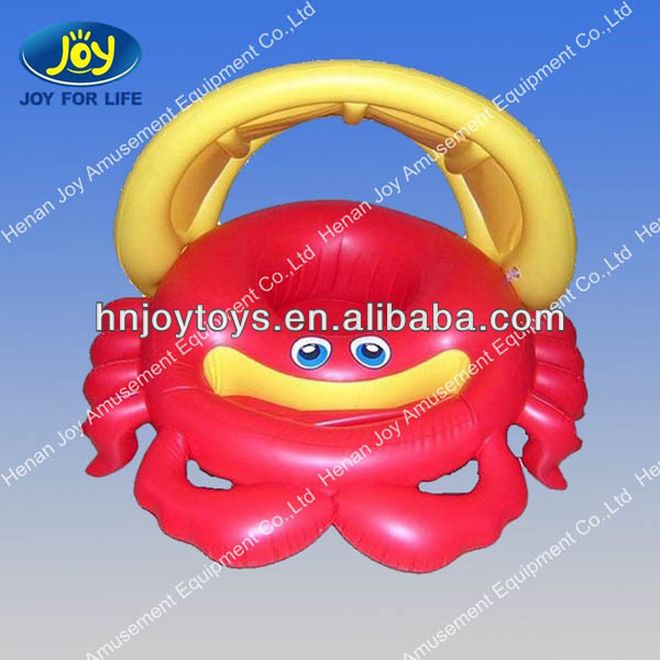 hot sell Crab pvc Plastic baby inflatable hot tubs spa / baby swimming pool