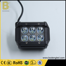 18W Spot led fog light Waterproof Jeep led driving light for Offroad Truck Pickup SUV headlamp