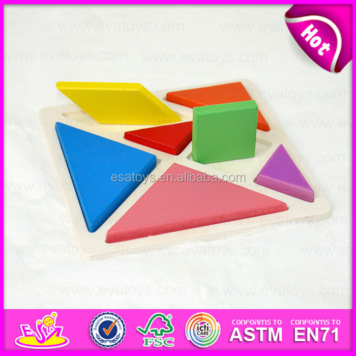 2015 Promotional kids wooden puzzle set toy,Colorful children wooden puzzle game,Cheap jigsaw puzzle for gift with EN71 W14A131