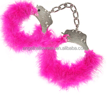 New Adult Sex Product Sexy love Handcuffs With Pink Fur For Sex Game SH1503