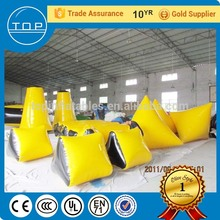 Durable inflatable playground equipment used paintball bunkers for wholesales