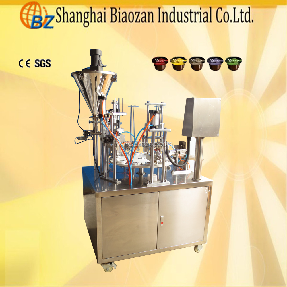 CE Certificate Rotary Small Automatic Instant Coffee Powder Filling Machine