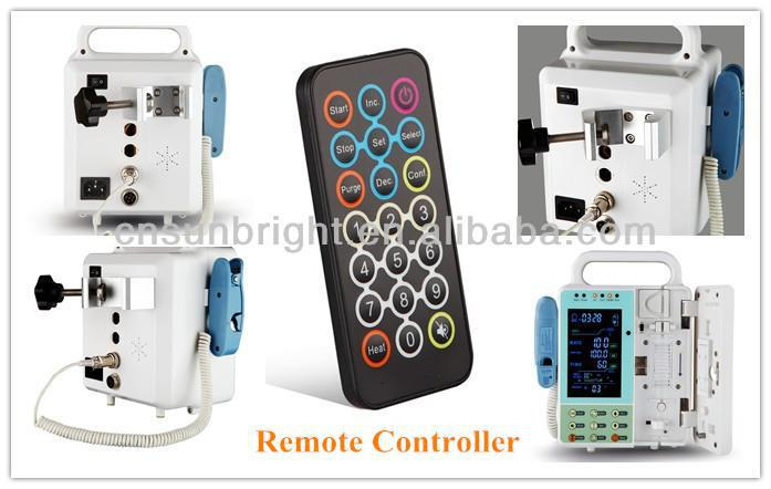 Super quality infusion electric pump with heating function