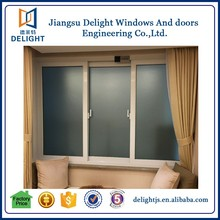 Surface finished aluminum prefabricated house sliding window blinds