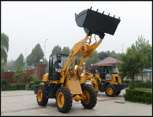 Small Garden Tractor Front End telescopic boom loader with ce