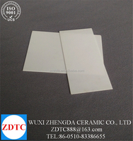 white fused alumina ceramic plate price