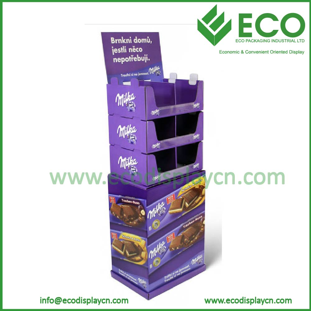 Countertop Soap Retail Display Shop Corrugated Paper Cardboard Counter Display
