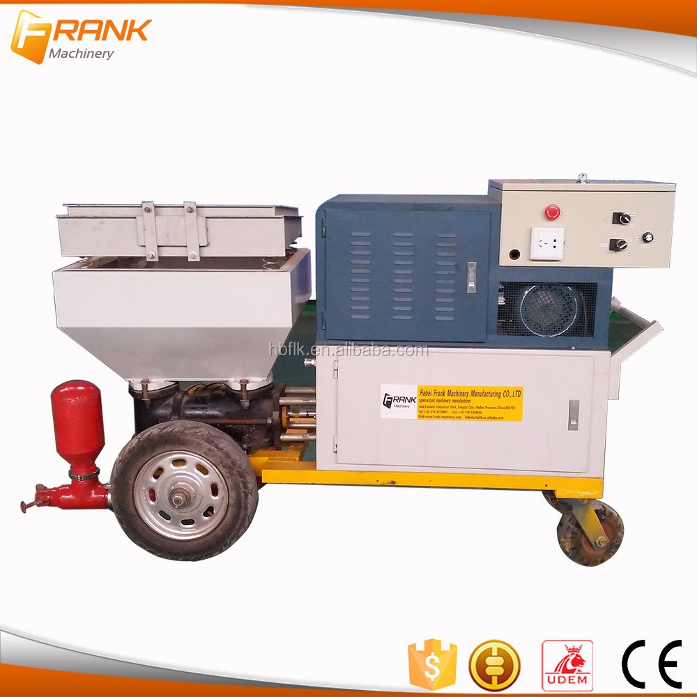 Machine for small business automatic wall cement plastering machine with new price
