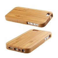 High Quality Bamboo Wood Case Cover For iphone5 protector madera Hard Back Cover Case Protector For iphone 5 5S