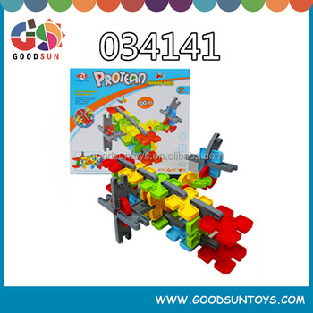 new design construction plastic building blocks toys for kids