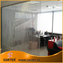 Metal Fly Screen Door Chain Curtain