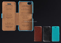 Retro Slim Flip PU Leather Case Cover For Apple iPhone 5C