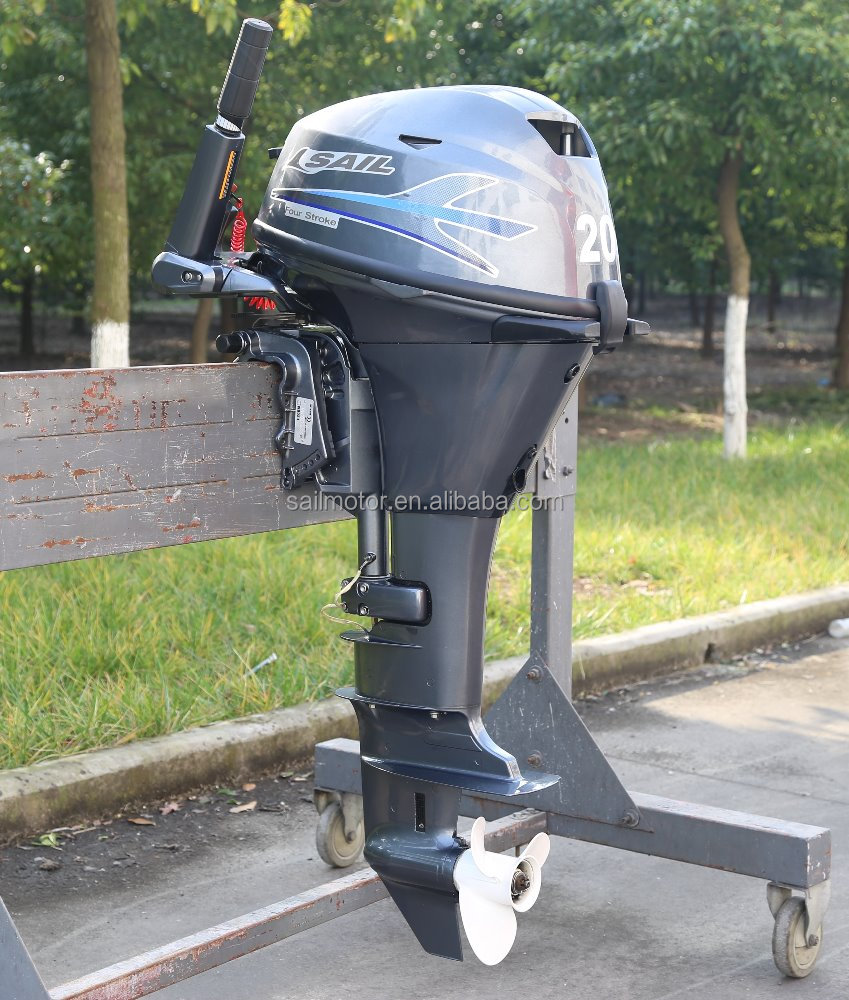 Sail 4 stroke 20hp outboard motor buy outboard motor for 4 stroke outboard motors