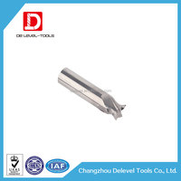 Delevel Tungsten Carbide T-Slot Mill Tool Sets For Milling / CNC Machine Grinding Dovetail Cutter