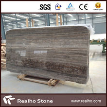 silver gray travertine